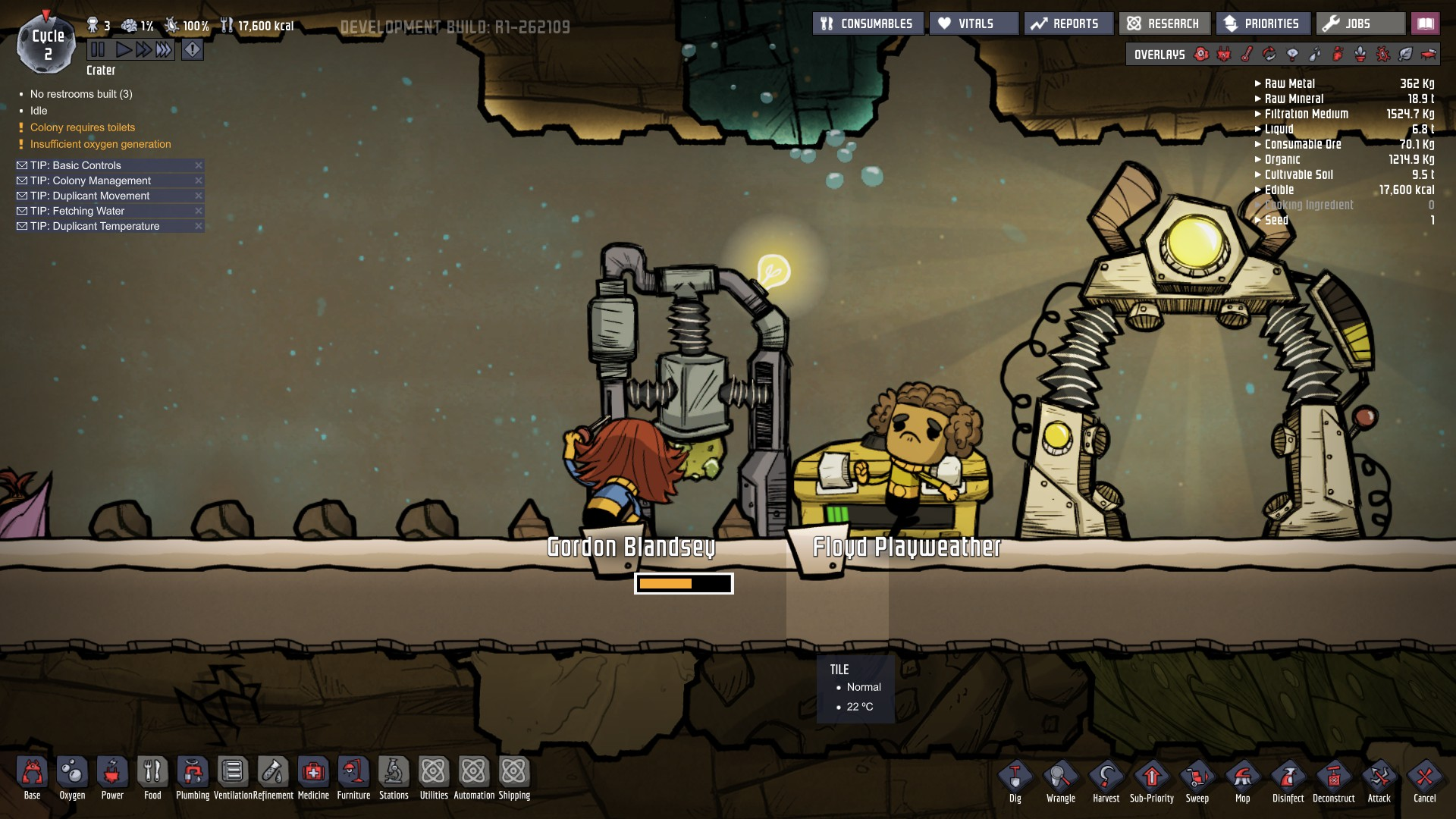 Oxygen Not Included Beginner's Survival Guide