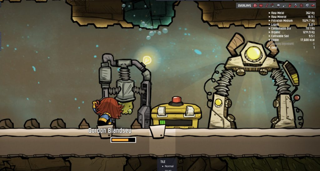 Oxygen not included mush laptop