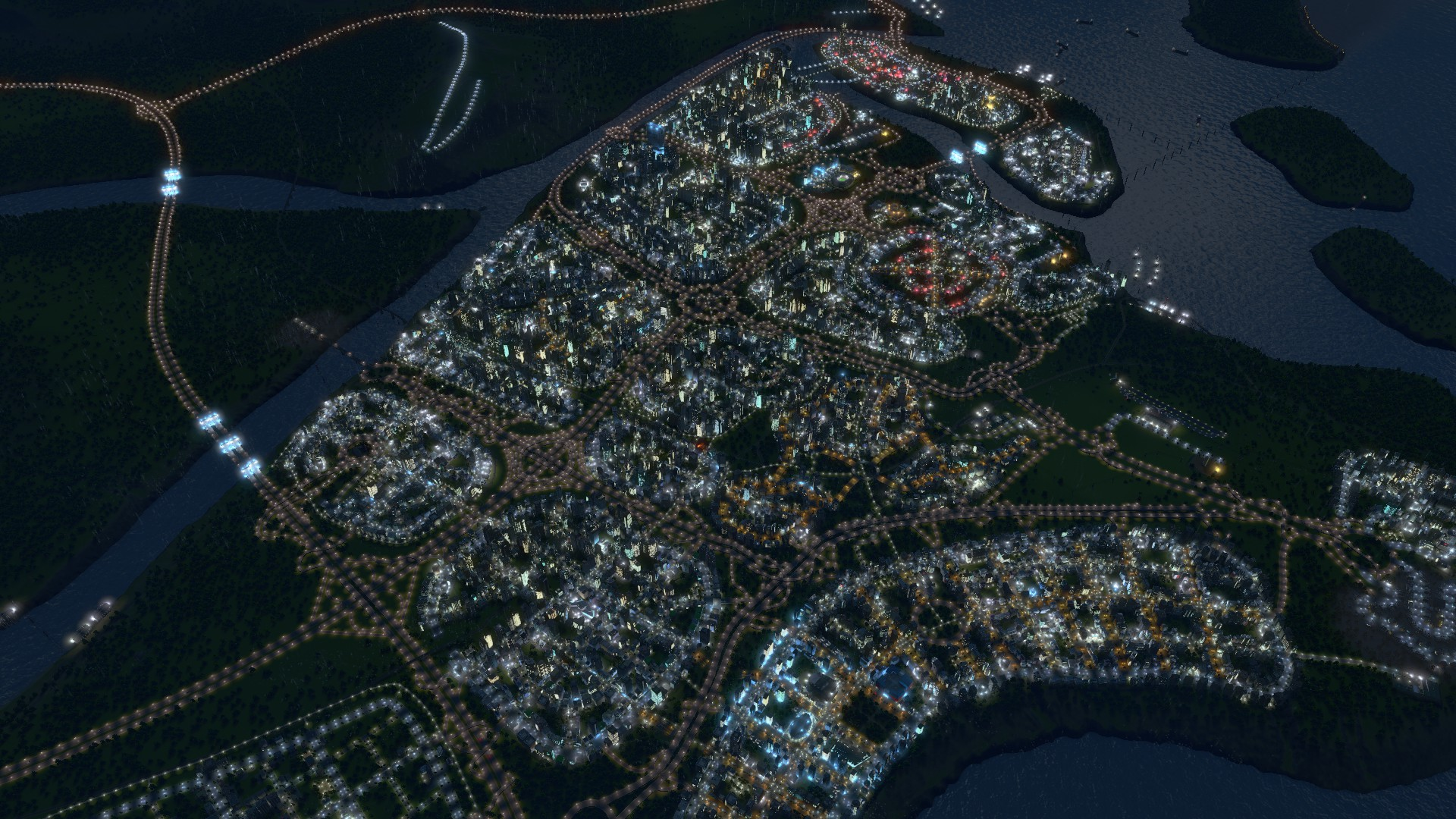 1,000,000 citizens in cities skylines